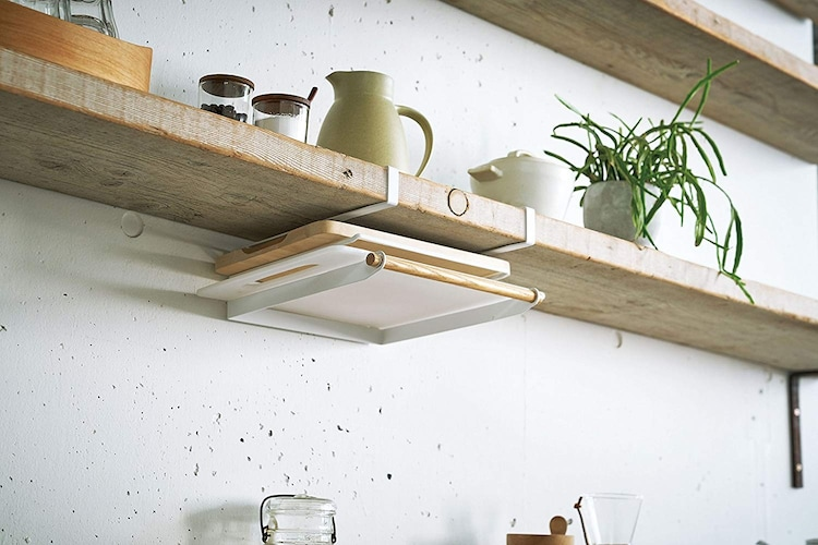 吊り下げ型|キッチンのデッドスペースを活かして