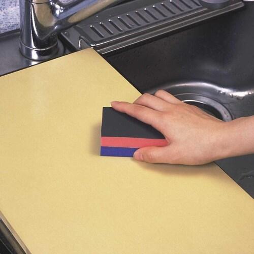 ゴム製まな板の洗い方