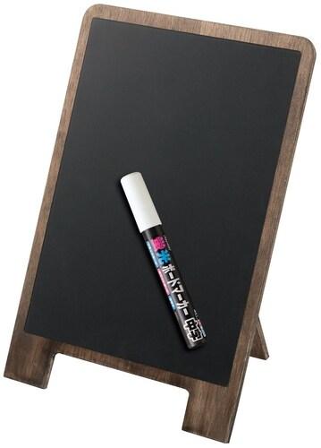 形|卓上タイプや棚と黒板が一体になったものも