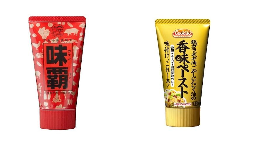 中華|万能中華スープの素「味覇(ウェイパー)」、こがしニンニク配合「香味ペースト」
