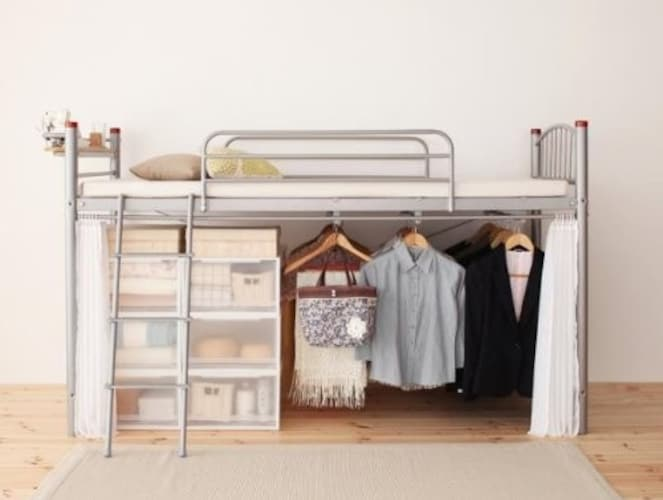 ロフト|お部屋のスペースを有効に使える