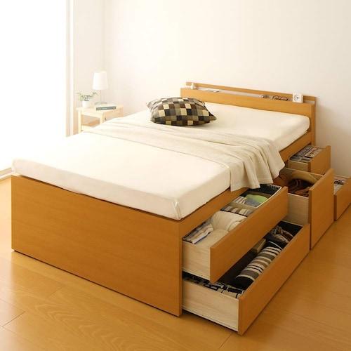 チェスト式|収納付きで部屋をすっきりみせる