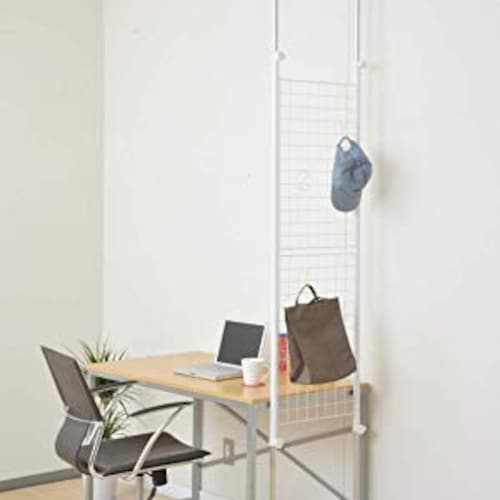 【1K|収納機能のある家具ですっきり!パーテーションで区切るのもおすすめ】