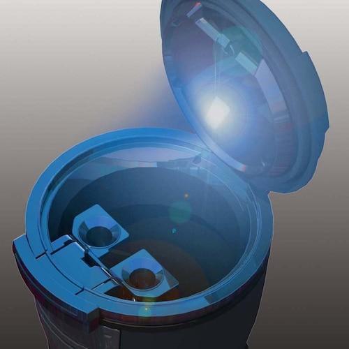 LEDライト|夜間でも明るい!灰皿の位置がわかる