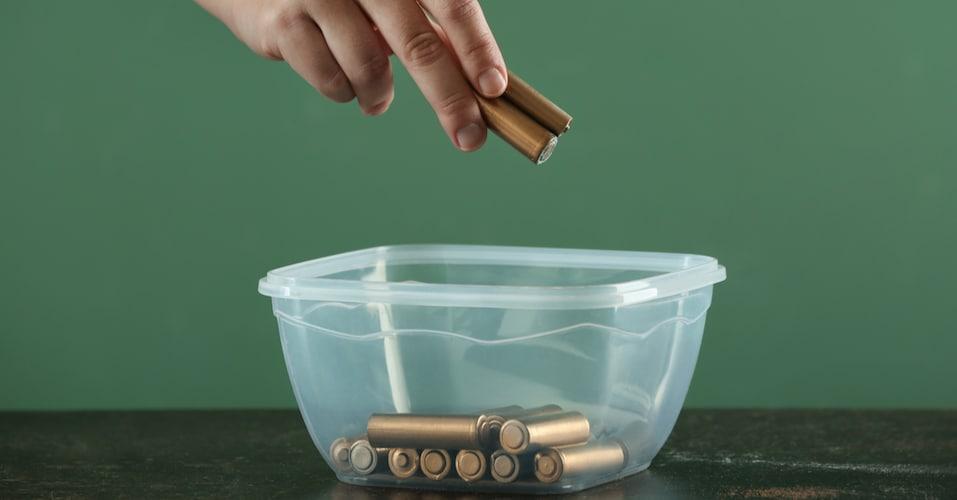 乾電池の保存方法