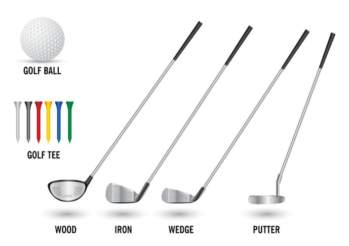 ゴルフクラブの種類を解説