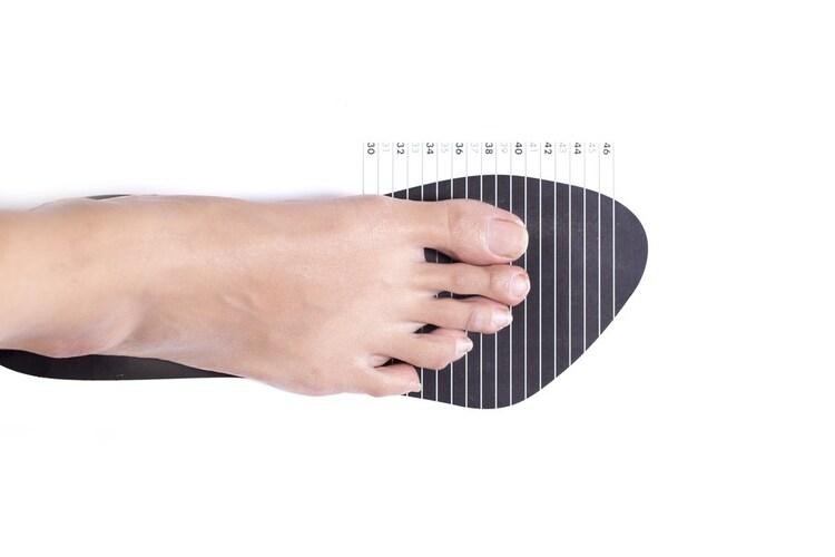 サイズ|足の実寸に合わせるのがポイント