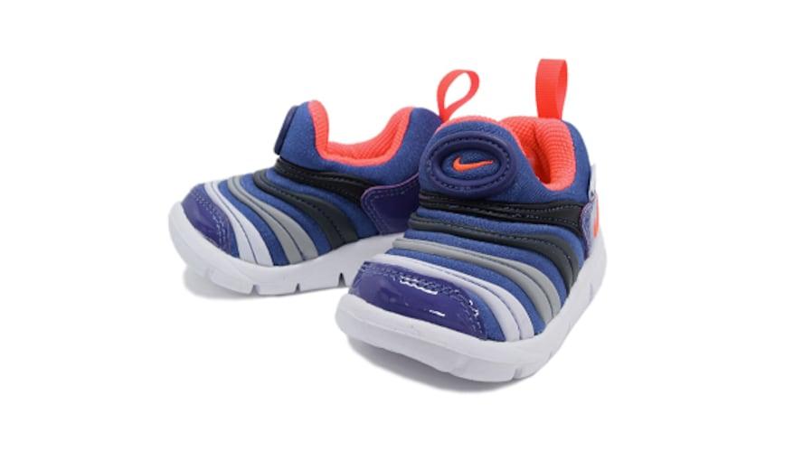 靴底はやわらかく、つま先部分は屈曲性のあるものを