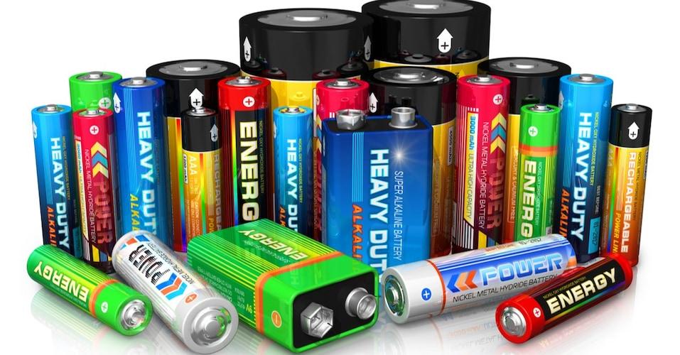 電池の種類|充電池の電池残量を計測できるモデルも