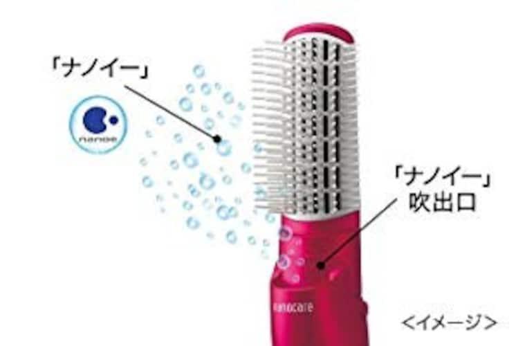 機能 髪のダメージが気になる方はマイナスイオン機能付きが最適