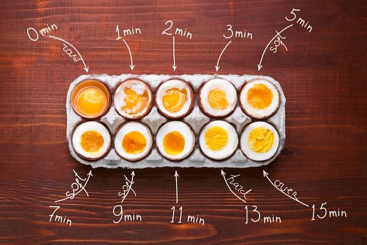 仕上がり|半熟卵や温泉卵が出来るものも!