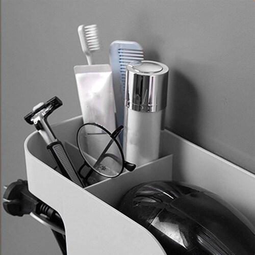 収納力|アイロンやコームも一緒に収納できると便利