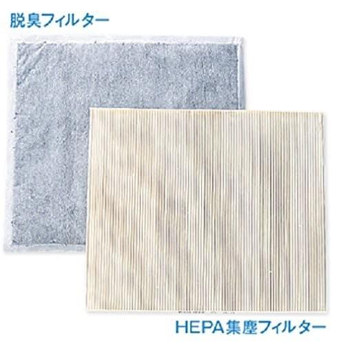 臭い対策 HEPAフィルターだけでなく、活性炭など臭いに特化したものを