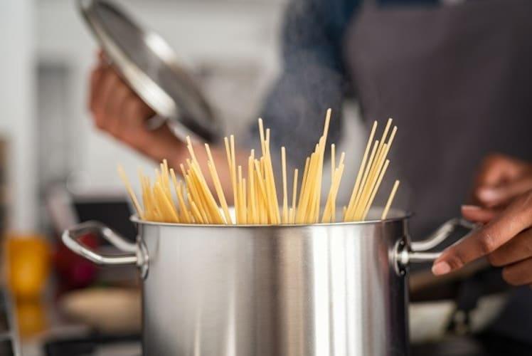パスタ鍋の使い方