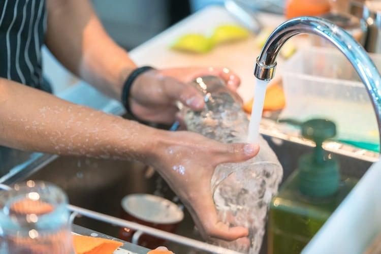 プロテインシェイカーの洗い方