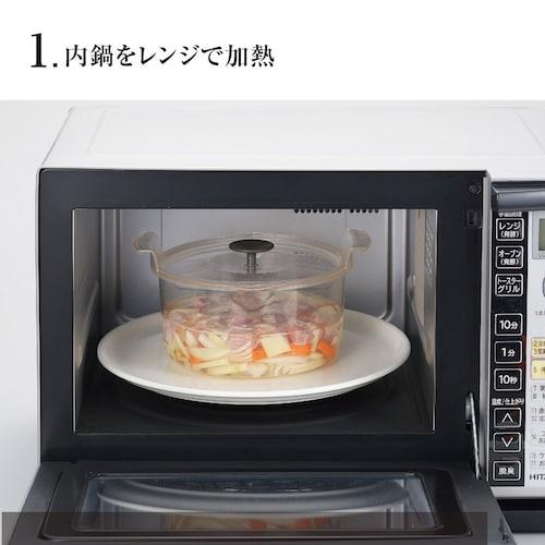 電子レンジ 火を使わず簡単に調理ができる