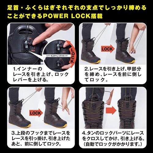 クイックレースタイプの履き方