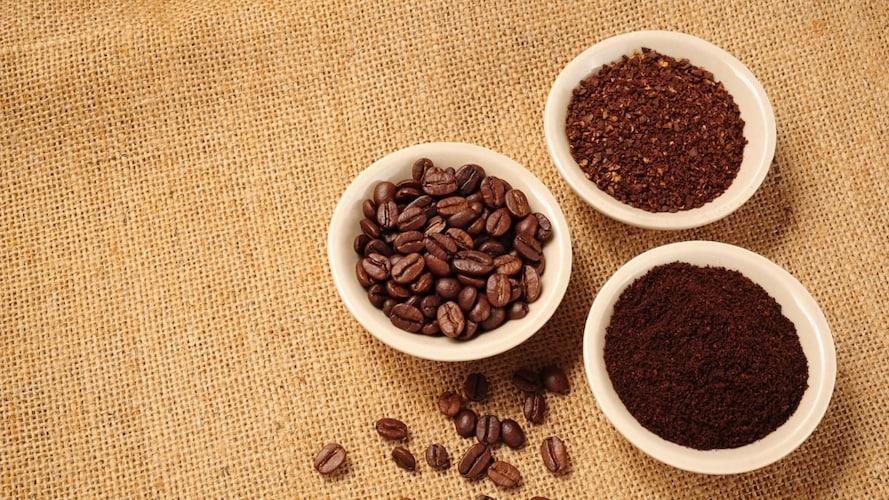 ▼美味しさの違いは豆の挽き方と沸騰時間