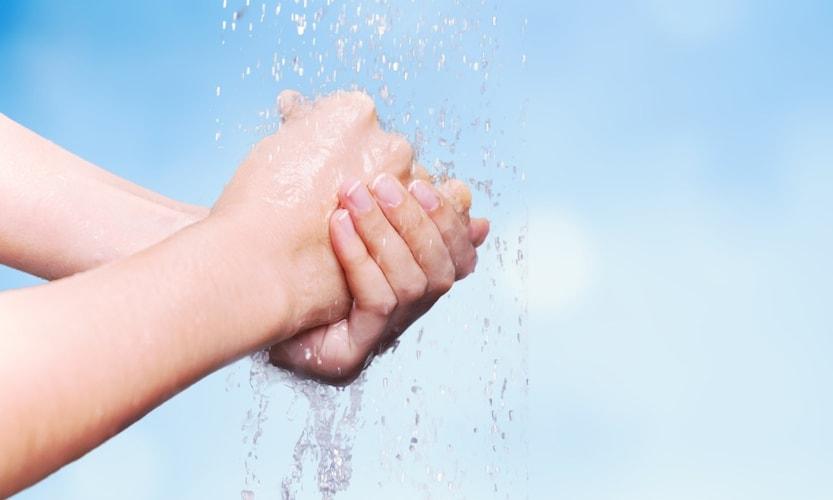 利便性 濡れた手でも使用できると便利
