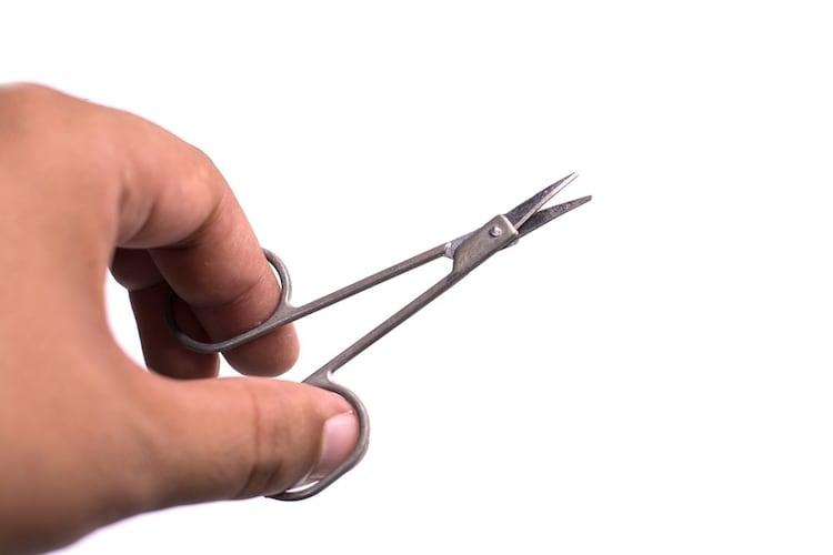 サイズ ハンドルの大きさや刃の長さなどを確認