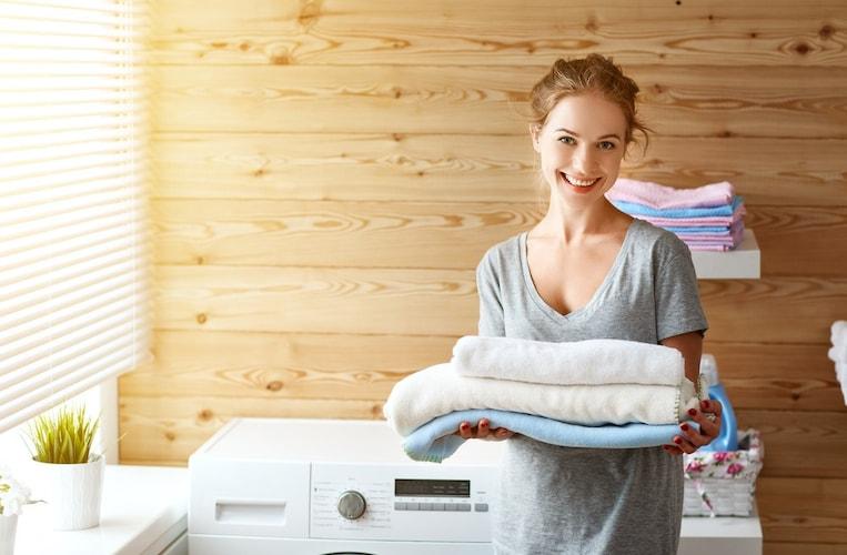 洗濯ボールの汚れやほこりが落ちる仕組み