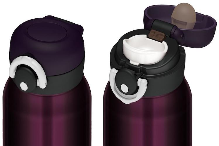 ワンタッチタイプ|素早く水分補給をしたいときに便利!