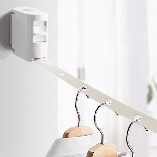 ワイヤータイプ バスルームなどで簡単部屋干し