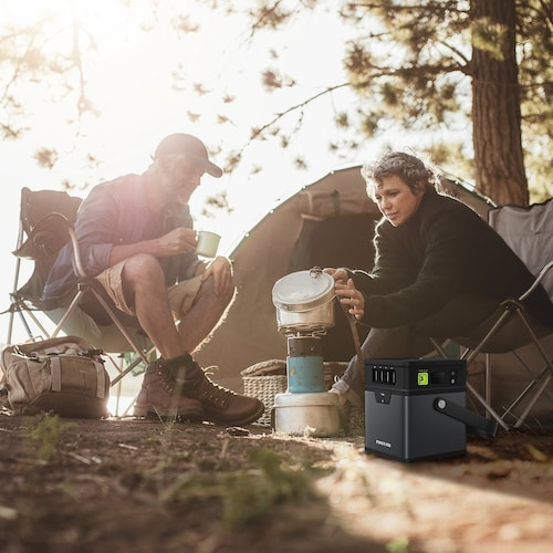 防水性能 災害時やキャンプでも役に立つ