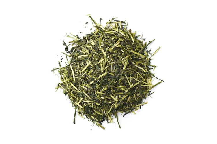 緑茶の「出がらし」に漬ける