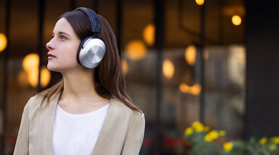 ▼密閉型 遮音性が高く、音楽に集中できる!