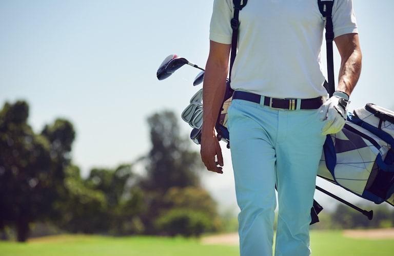 メンズゴルファー
