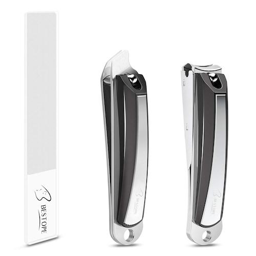 刃のタイプ|巻き爪防止に「直線刃」、折れにくい「曲線刃」