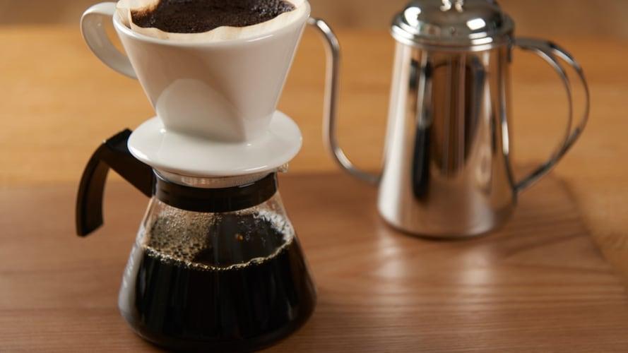 コーヒーサーバーを使用する際のポイント