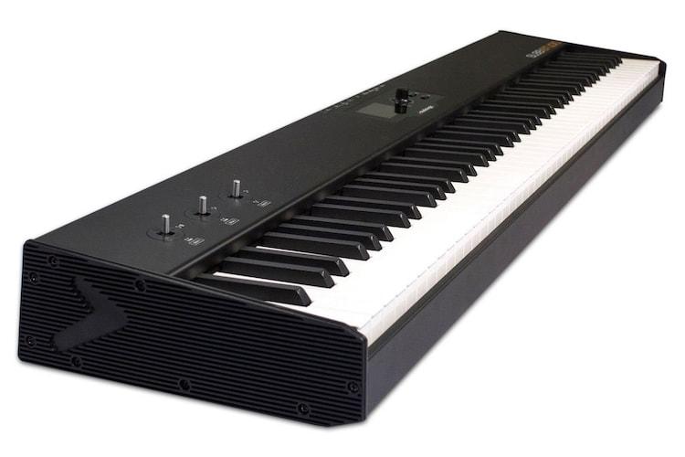 ▼ピアノタッチ鍵盤 ピアノと同じ感覚で弾きたい方に