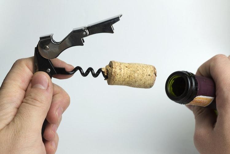 ソムリエナイフの使い方