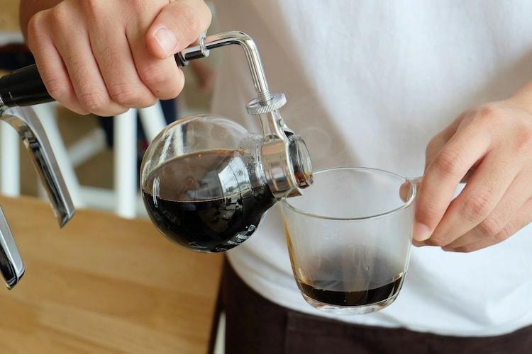 サイフォンコーヒーの淹れ方