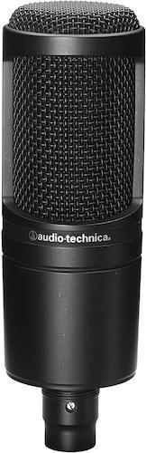 ▼コンデンサーマイク|繊細な音も録音できる