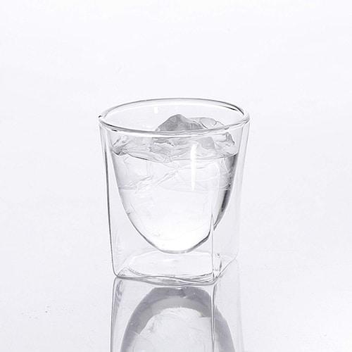 ガラス ロックなら「ダブルウォール」、お湯割りなら「耐熱ガラス」を