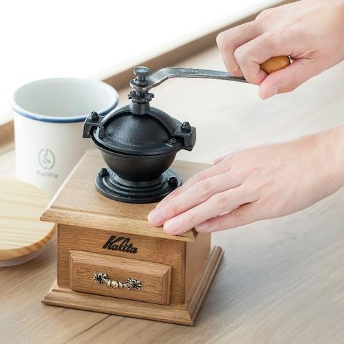 「手動」はコーヒーの香りを堪能
