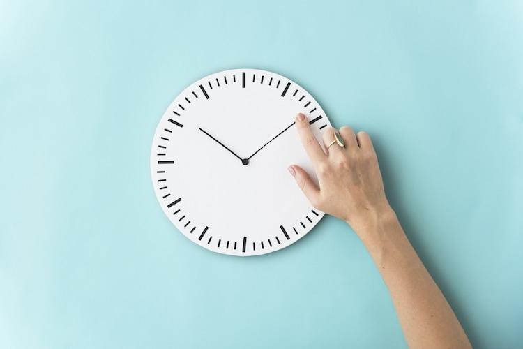 使用時間を守る