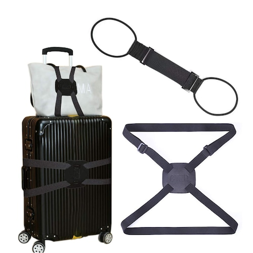 1.縛るタイプ|スーツケースの形に合わせて固定できる