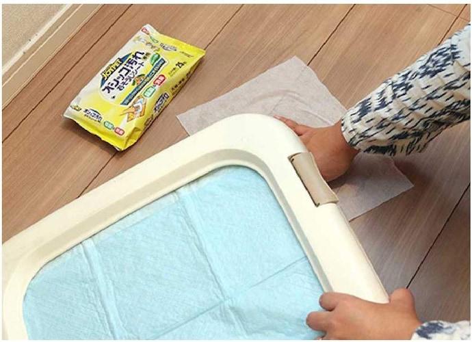 掃除やおもちゃ拭きに!大判サイズのシートが便利