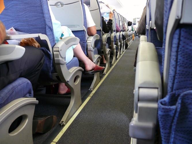 フットレストを機内で使うときの注意点