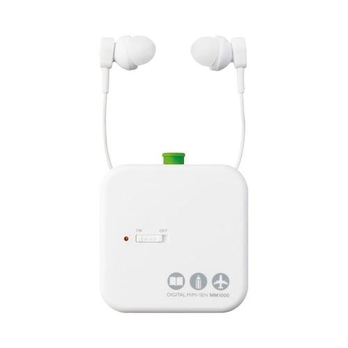 5.デジタルタイプ|着信音や目覚ましの音が聞こえる耳栓