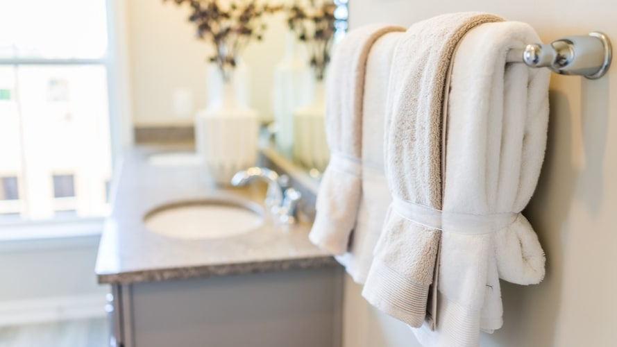 ホテルタイプ|高い耐久性と吸水性を備えたタオル