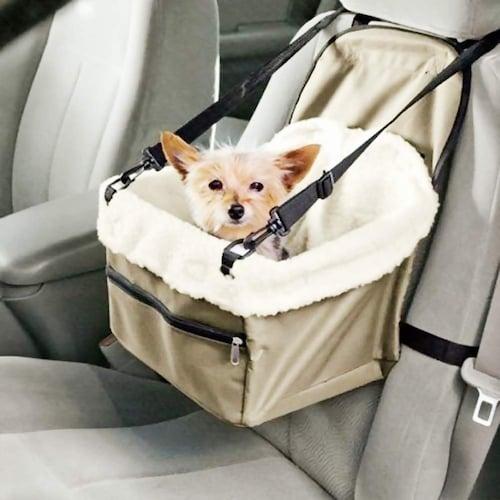 ドライブボックスで安全性アップ!車酔いの防止にも