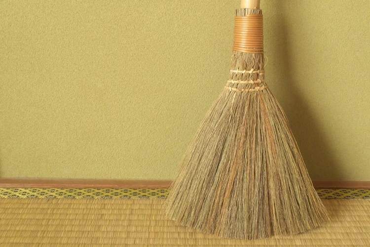 フローリング・畳|毛の柔らかい「棕櫚」「ほうき草」