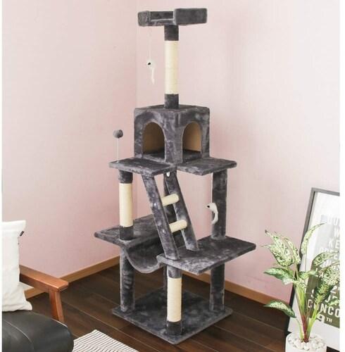 形状|シニア猫や子猫には階段付きがおすすめ