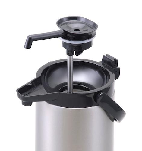 構造|手軽な中栓なし・外して洗える中栓付き