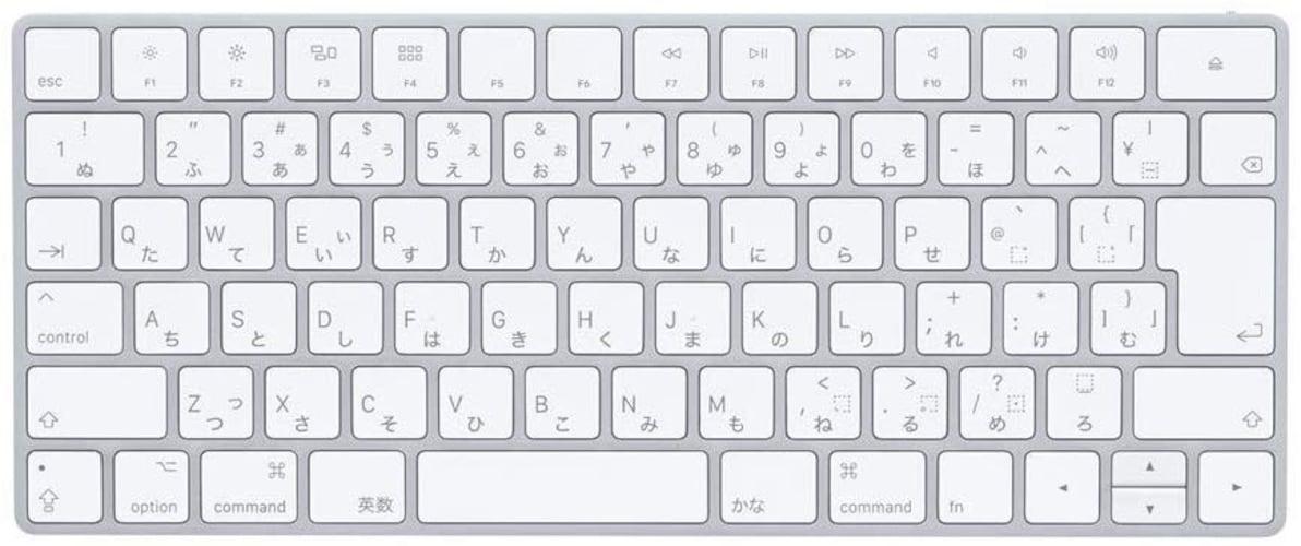 1、Apple製品向けキーボード MacやiPad等と相性◎